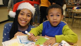 LTHS hosts its annual Santa Write Night for kids on Dec. 10 at the South Campus Discovery center.