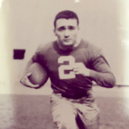 Thomas Carey was a standout football player at the University of Notre Dame from 1951-54, and was on the roster of the 1955 College All-Stars, who defeated the NFL champion Cleveland Browns in an exhibition game at Soldier Field that August. (Provided)