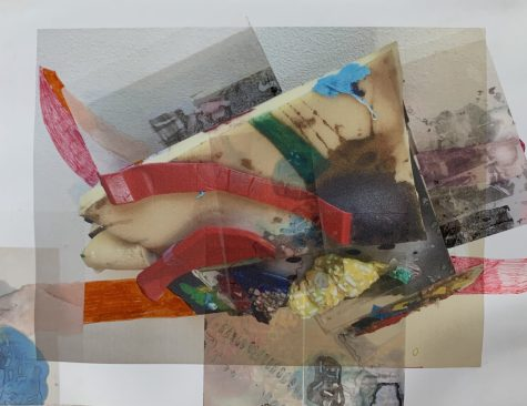 """Visit the Riverside Township Hall for """"Storyboards for Installations and Assemblages"""" by Camille Silverman, which includes studies for her upcoming show at Riverside Arts Center."""