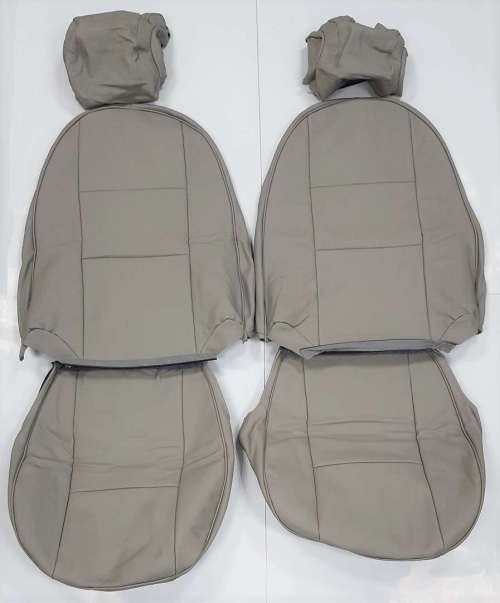 small resolution of front leather seat covers in beige parchment for saab 900 ng cv 1994 1998