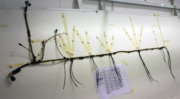 Wiring Harness Form Board