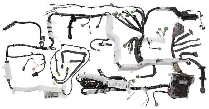motorsports ecu wiring harness construction