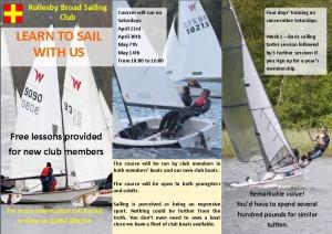 Training Leaflet Pic