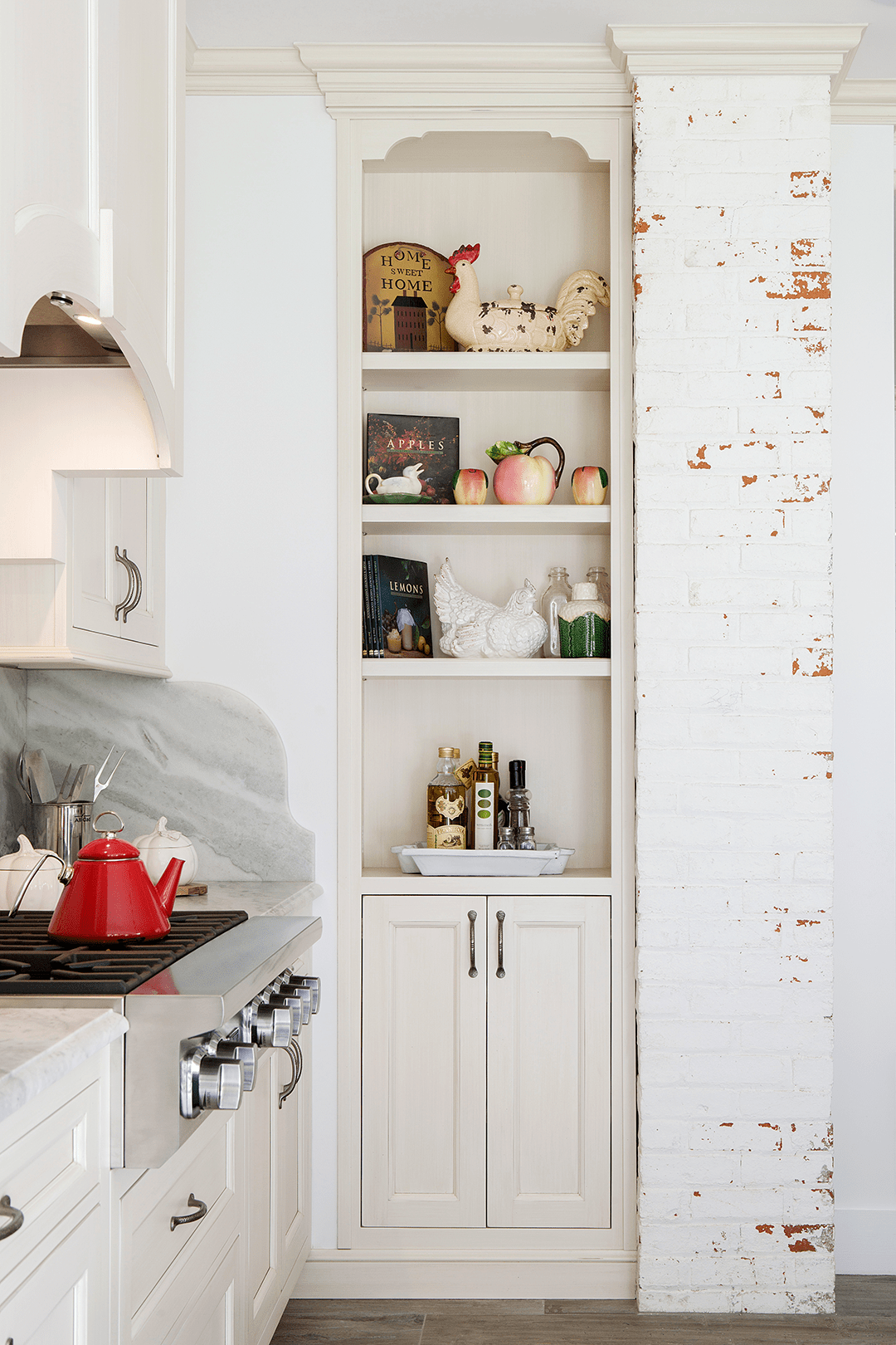 kitchen bookshelf bench for table open shelving kitchens 8 reasons why works the concept offers several functional and aesthetic benefits