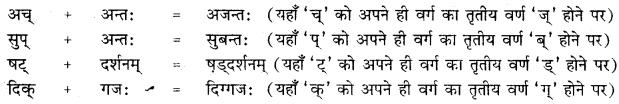 RBSE Class 10 Sanskrit व्याकरणम् सन्धिः image 13 a