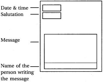 RBSE Class 6 English Message Writing image 1
