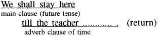 RBSE Class 8 English Grammar Tenses 1