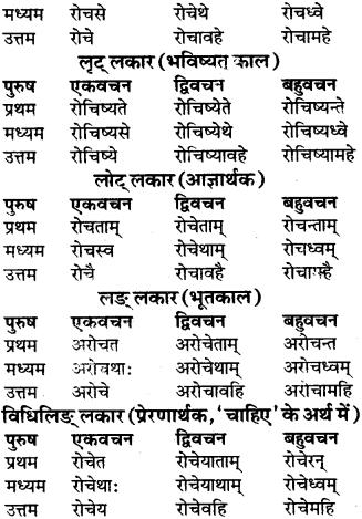 RBSE Class 9 Sanskrit व्याकरण रूप-प्रकरणम् 69
