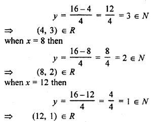 RBSE Solutions for Class 11 Maths Chapter 2 Relations and Functions Miscellaneous Exercise 1