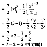 RBSE Solutions for Class 12 Maths Chapter 11समाकलन के अनुप्रयोग: क्षेत्रकलन Additional Questions