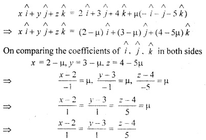 RBSE Solutions for Class 12 Maths Chapter 14 Three Dimensional Geometry Ex 14.2