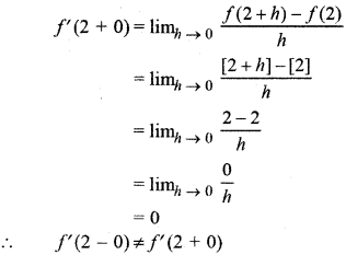 RBSE Solutions for Class 12 Maths Chapter 6 Additional Questions 62