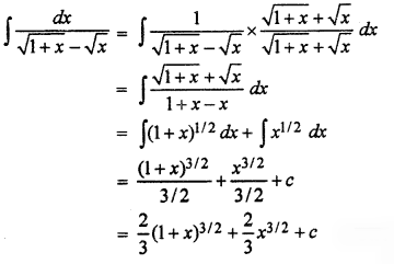 RBSE Solutions for Class 12 Maths Chapter 9 समाकलन Ex 9.1