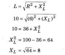 RBSE Solutions for Class 12 Physics Chapter 10 Alternating Current 9