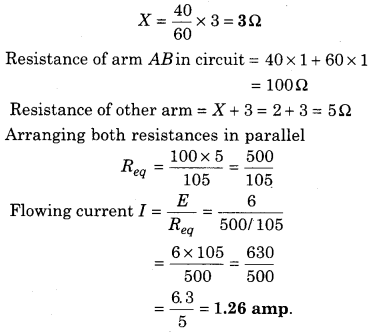 RBSE Solutions for Class 12 Physics Chapter 6 Electric Circuit 45