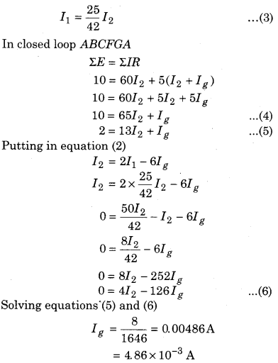 RBSE Solutions for Class 12 Physics Chapter 6 Electric Circuit 48