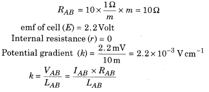 RBSE Solutions for Class 12 Physics Chapter 6 Electric Circuit 57
