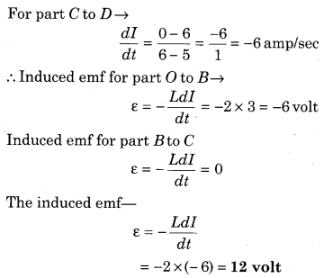 RBSE Solutions for Class 12 Physics Chapter 9 Electromagnetic Induction 50