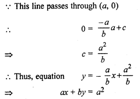 RBSE Solutions for Class 11 Maths Chapter 11 Straight Line Ex 11.3