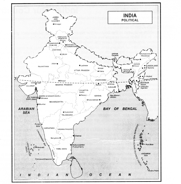 RBSE Class 8 Social Science Notes Chapter 1 India Our Country 1