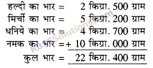 RBSE Solutions for Class 5 Maths Chapter 12 भार Ex 12.1