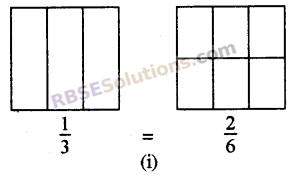RBSE Solutions for Class 5 Maths Chapter 7 तुल्य भिन्न Ex 7.1