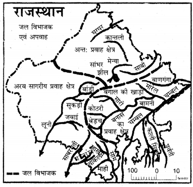 RBSE Solutions for Class 11 Pratical Geography मानचित्रावली 31