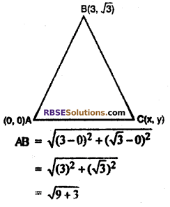 RBSE Solutions for Class 10 Maths Chapter 9 Co-ordinate Geometry Ex 9.1 23