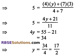 RBSE Solutions for Class 10 Maths Chapter 9 Co-ordinate Geometry Ex 9.2 12