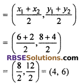 RBSE Solutions for Class 10 Maths Chapter 9 Co-ordinate Geometry Miscellaneous Exercise 15