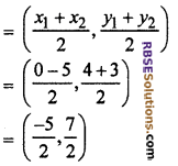 RBSE Solutions for Class 10 Maths Chapter 9 Co-ordinate Geometry Miscellaneous Exercise 22