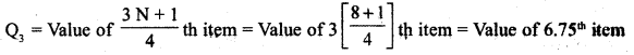 RBSE Solutions for Class 11 Economics Chapter 9 Median 32