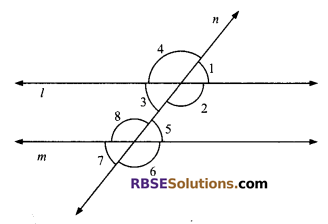 RBSE Solutions for Class 9 Maths Chapter 5 Plane Geometry and Line and Angle Ex 5.2 4
