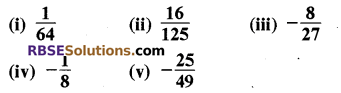 Rajasthan Board RBSE Class 8 Maths Chapter 3 Powers and Exponents Ex 3.1 7