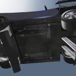 Spectre Spy car underside gadgets