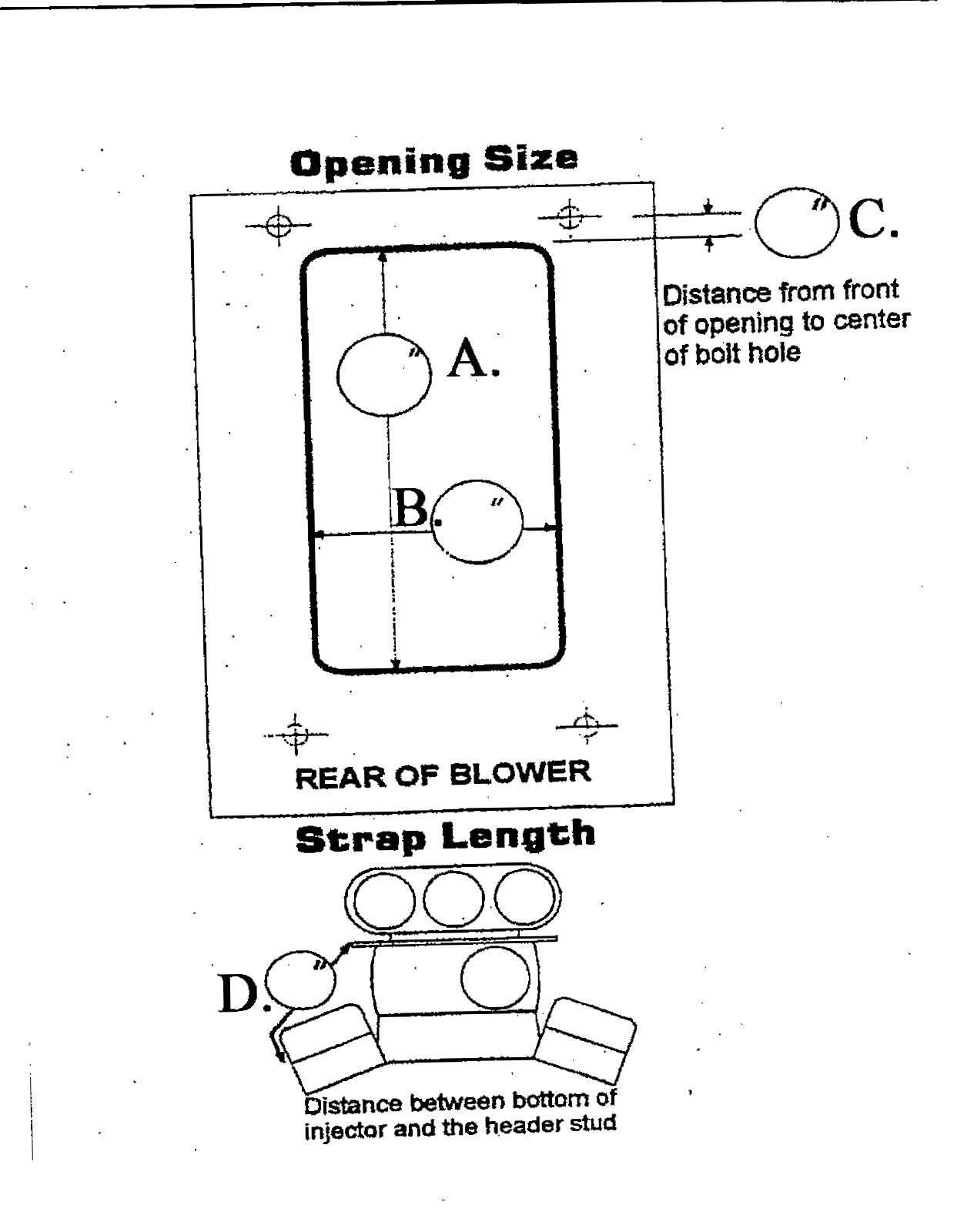 Blower Restraint 14 3 Sfi Assm Taylor