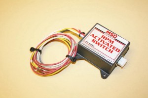 Used MSD Rpm Activated Switch