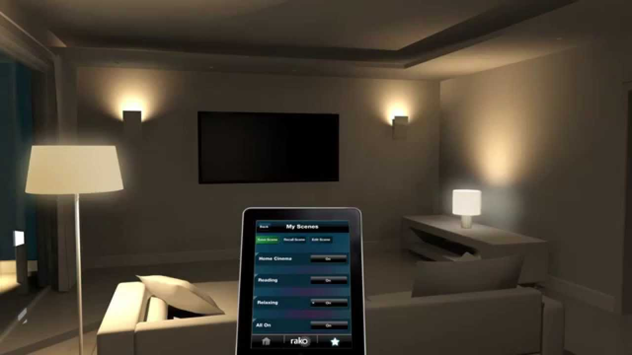 Rako Wireless Lighting Control Method 8 Non Dimmed Switching
