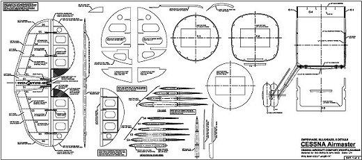 RC Cessna Airmaster Plan