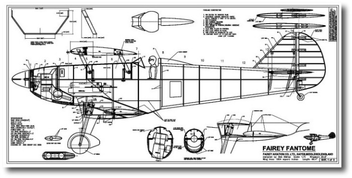 A large scale model aircraft: A beautiful 1935 RAF biplane.