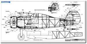 RC Plans of Exciting Models from the Golden Years of Aviation