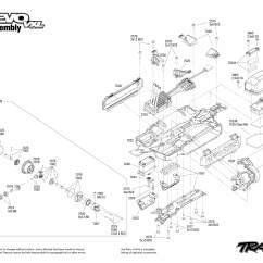 E Revo Brushless Parts Diagram Modine Gas Heater Wiring 4x4 1 16 Vxl Tsm Noir Rc Alpha