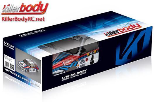 Drift 195mm Scale Fertig lackiert Box Lanci KillerBody Karosserie 1//10 Touring