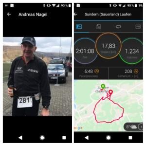 Andreas wird zum Langstreckler... ob Radfahren oder Laufen...je länger umso besser!