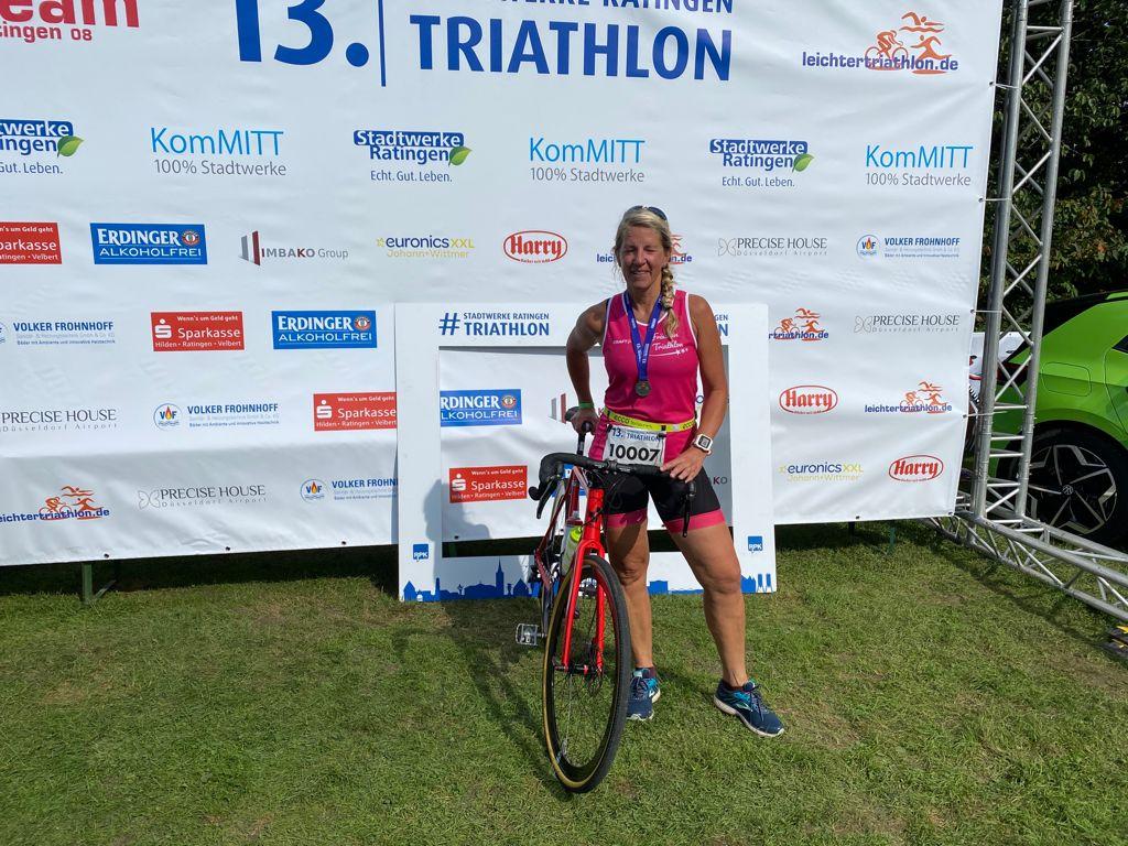 Sabine Mertens meistert erste Kurzdistanz