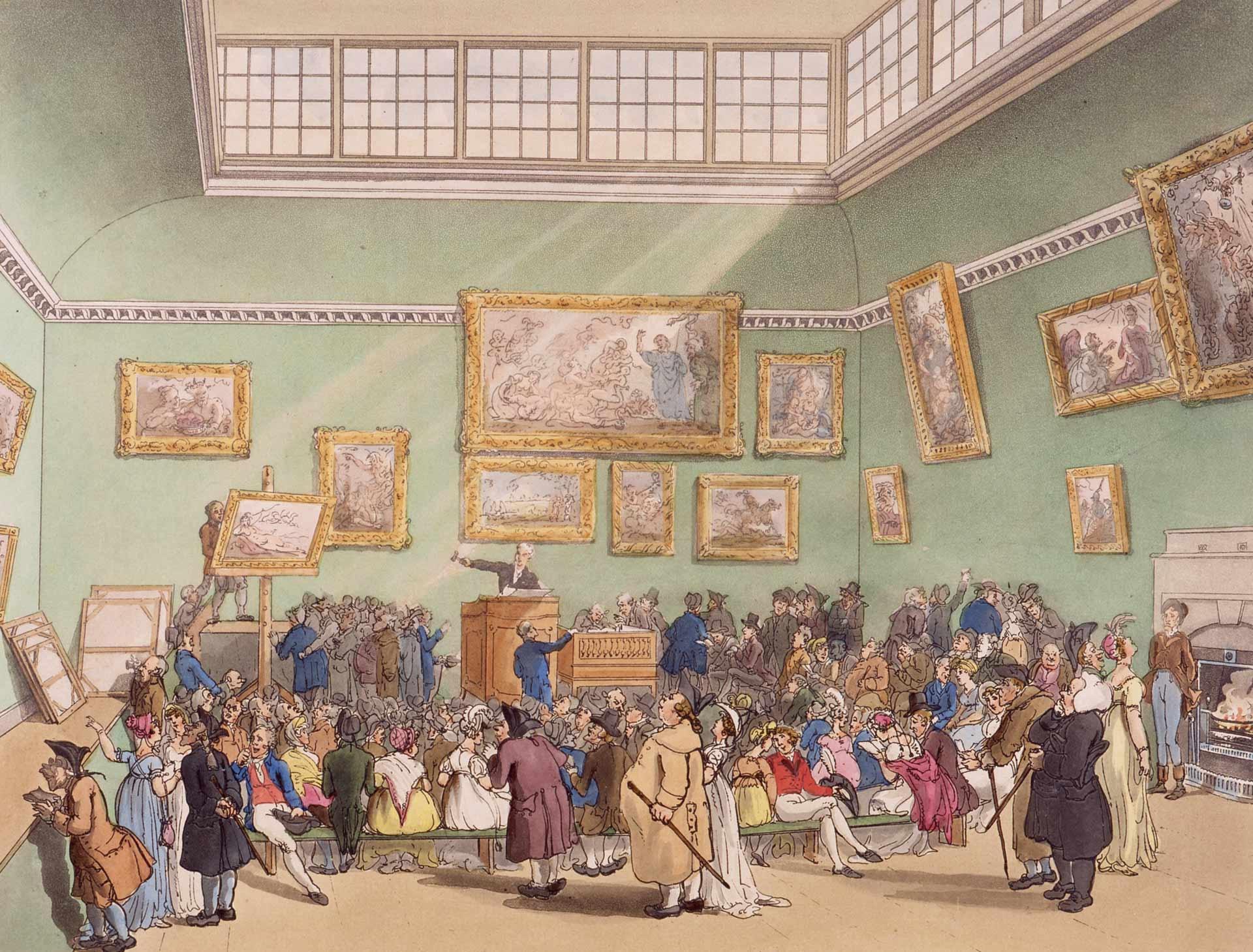 Christie' Auction House Romantic Circles