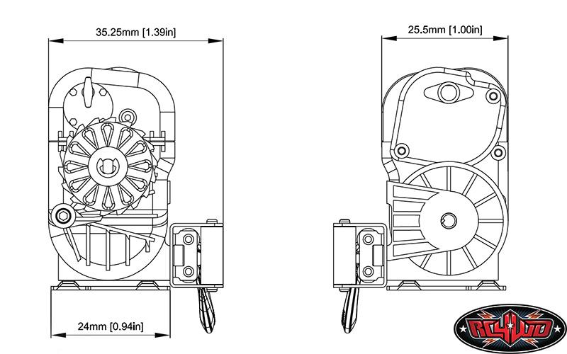 RC4WD 1/10 Warn 8274 Winch