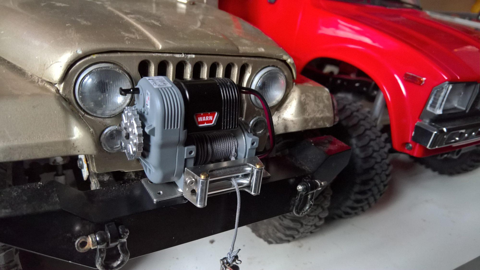 hight resolution of warn winch bumper