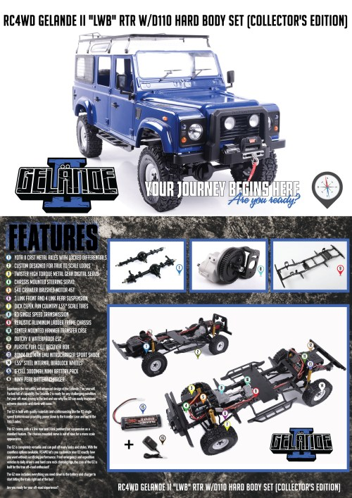 small resolution of  w d110 hard body set collector s edition was put together with the scale driver in mind there s a limited quantity that will be released of these