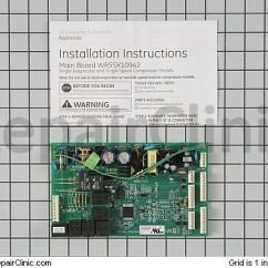 Refrigerator Wiring Diagram Whirlpool 2000 Lincoln Town Car How To Test The Evaporator Fan Motor In A Ge Profile | Fixitnow.com Samurai ...